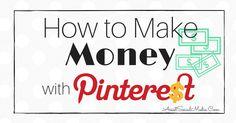 Easily Make Money On Pinterest - Tips for Business on Pinterest