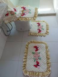 Resultado de imagem para jogo para banheiro patchwork