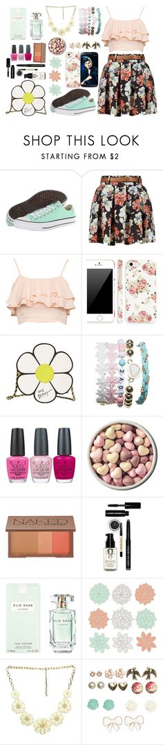 """Untitled #597"" by sabrina-emo ❤ liked on Polyvore featuring Converse, Retrò, Betsey Johnson, Wet Seal, OPI, Urban Decay, Bobbi Brown Cosmetics, Elie Saab, women's clothing and women"