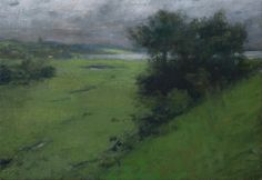 paradise valley #2 ~ oil on panel ~ by charles weed