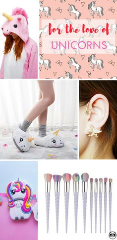 For the love of unicorns! All of the unicorn goodness you need in one place.