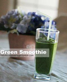 Fabulously Average, Green Smoothie