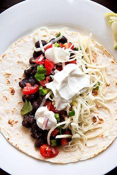 Black & White Tacos by foodiebride, via Flickr