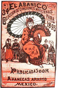 El Abanico Jose Guadalupe Posada