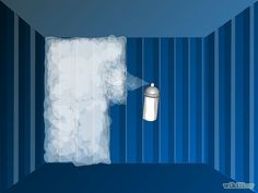 Insulate a Shipping Container Home - wikiHow .... INTERESTING! Spray on insulation. Who would have thought. I love learning about these shipping container homes. SO COOL!