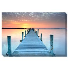 The Pier Oversized Gallery Wrapped Canvas - Overstock Shopping - Top Rated Gallery Direct Canvas