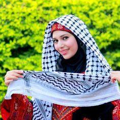 .Palestine lady