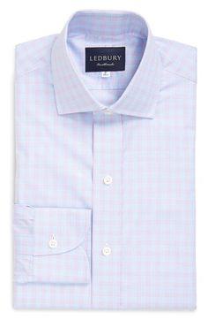 Ledbury 'Kingsley' Classic Fit Check Dress Shirt