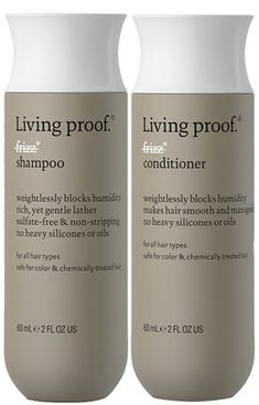 Living Proof No Frizz Shampoo and Conditioner. Best Shampoo and Conditioner for Frizzy and/or Curly Hair. I buy this brand and it actually works on my curly hair. Oh and it smells delicious! How To Make Hair, Make Up, Hair Frizz, Frizzy Hair, Curly Hair Styles, Natural Hair Styles, Shampoo For Curly Hair, Good Shampoo And Conditioner, Getting Rid Of Dandruff