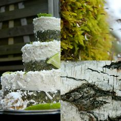 Selinas Ekologiska Meze. Raw Coconut & Lime Cake