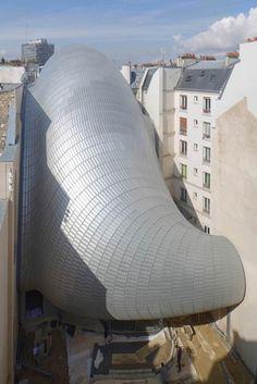 The Pathé building, home for the Fondation Jérôme Seydoux-Pathé - Paris, Renzo Piano