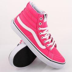 Vans Neon Pink Sk8-Hi Slim
