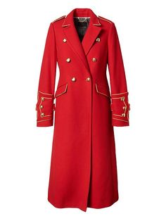Banana Republic x Olivia Palermo | Long Military Coat