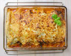 Steamhaus - Rezept für Kombi-Steamer und Dampfgarer: Lasagne al forno mit Spinat.