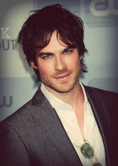 Ian Somerhalder... do these eyes, mine plus his we could have babies with the bluest eyes u ever seen