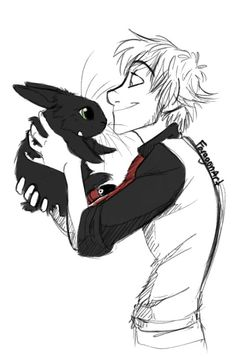 Cuuuuuuuuuuuute. Modern httyd ( if Toothless was a bunny)
