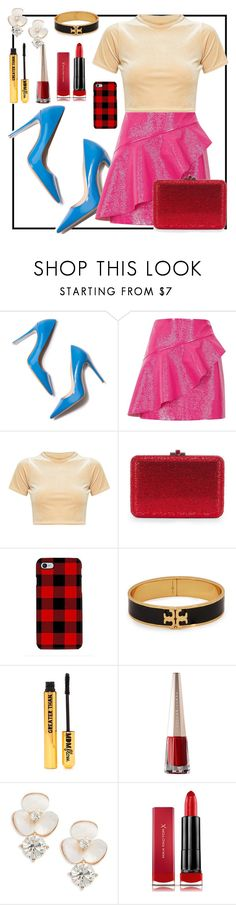 """""""ccc"""" by seventeen-0 ❤ liked on Polyvore featuring M. Gemi, River Island, Samsung, Tory Burch, Nasty Gal, Kate Spade and Max Factor"""