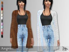 Sims 4 CC's - The Best: ANGENI JACKET by blue8whitewolfcreation
