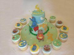In The Night Garden - Iggle Piggle & Upsy Daisy cake