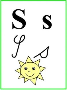 ABECEDA PÍSMENO S Montessori, Preschool, Classroom, Character, Alphabet, Class Room, Kid Garden, Kindergarten, Lettering