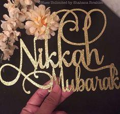 The Ultimate Wedding Beauty Checklist Muslim Wedding Ceremony, Nikah Ceremony, Muslim Nikah, Muslim Brides, Islam Muslim, Muslim Couples, Party Decoration, Wedding Decorations, Indian Wedding Planning