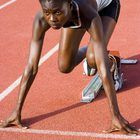 Example of a Track Workout for Middle-Distance Runners - Woman
