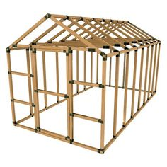 (CLICK IMAGE TWICE FOR PRICING AND INFO :) #greenhouses #greenhouse #portable #portablegreenhouses #gardengreenhouse #garden #gardening #gardengreenhouses - SALE! 8X16 Greenhouse Kit – DO IT YOURSELF by E-Z Frames! « OrganicWarfare.com