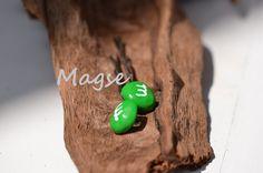 M+M Haarklammern Grün