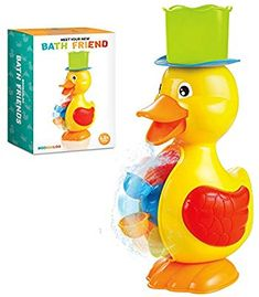 BOOBAALOO Duck Bath Toy - Baby Toys for Toddlers and Infants - Fun, Interactive and Developmental Toys for Babies Making Bath Time Fun Bath Toys For Toddlers, Toddler Toys, Toddler Activities, Easy Toddler Crafts, Easy Crafts, Toys For Tots, Baby Bath Toys, Water Party, Developmental Toys