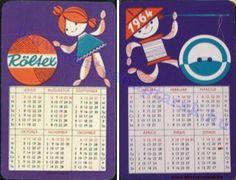 1964 - 1964_0149 - Régi magyar kártyanaptárak Pocket Calendar, Cards, Fictional Characters, Pockets, Pocket Diary, Maps, Fantasy Characters, Playing Cards