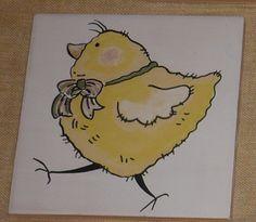 pollo1 azulejo 10 x 10