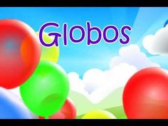 LOVE THIS!  A song to learn colors and get the wiggles out at the same time.  Globos - Learn colors in Spanish song with Miss Rosi. #SpanishColors #SpanishForKids