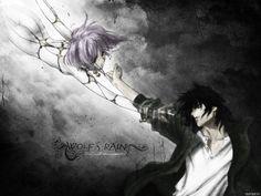 Tags: Anime, Wallpaper, Wolfs Rain, Kiba (Wolfs Rain), Cheza