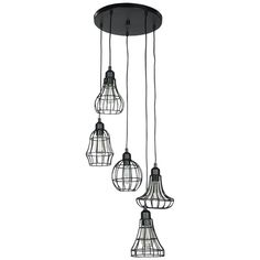 Retro pendant with metal cage shades. Retro, Decoration, Wind Chimes, Ceiling Lights, Pendant, Outdoor Decor, Home Decor, Kitchens, Ideas
