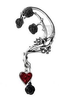 Bed of Roses Earring Earwrap by Alchemy Gothic | Gothic