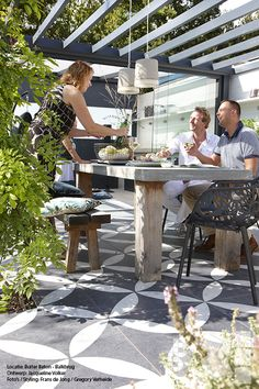 Verhoogd terras met trap google zoeken huis pinterest met en zoeken - Buitentuin ontwerp ...