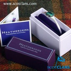 Supplied in a gift box with story card on how we make Heathergems. Heathergems are unique and no two are ever exactly the same. Handcrafted in Scotland. Dimensions: 194 mm wire circumference with H Heather Flower, Scottish Heather, Scotland, Bangles, Jewelry Making, Gems, Unique Jewelry, Centre, Silver