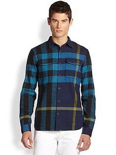 Burberry Brit Endell Check Sportshirt