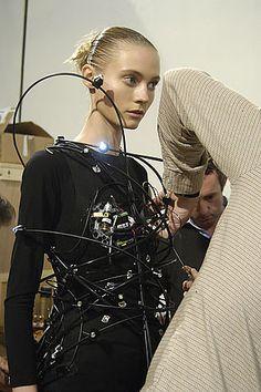 "Hussein Chalayan Creates ""Big Bang"" Mechanical Dresses | POPSUGAR Tech"