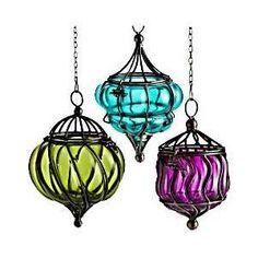 Hanging Patio Lights, Patio Lighting, Hanging Lanterns, Candle Lanterns, Hanging Decorations, Hanging Ornaments, Lighting Ideas, Lighting Design, Dream Studio