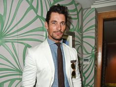 David Gandy Arrives In Nice And Heads To The Parties At The Cannes Film Festival