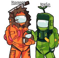 South Park Anime, South Park Fanart, Anime Manga, Anime Art, Kenny South Park, Tweek And Craig, South Park Memes, Kawaii Anime, Kawaii Art