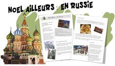 Noël ailleurs (Russie, Belgique, Espagne...) - Bout de gomme