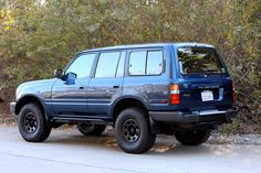 1996_FZJ80   TLC 4x4 Restoration, Corvette Engine, Old Man Emu OME, Black Rock Rims 80 series Toyota