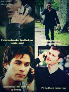 Hahaha!!! LOL ...#funny moments with TVD...