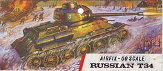 Airfix T34