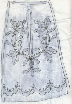 Crewel Embroidery, Embroidery Patterns, Elizabethan Fashion, 18th Century Costume, 18th Century Clothing, Jewellery Sketches, Work Bags, Cutwork, Small Bags