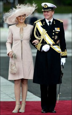 Queen Maxima and King Willem of the Netherlands