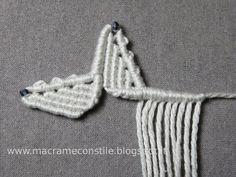 Macrame Necklace, Macrame Jewelry, Macrame Bracelets, Micro Macramé, Star Diy, Macrame Design, Macrame Projects, Macrame Patterns, Lace Making
