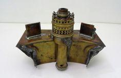 POYARD-ancienne-lampe-a-petrole-lanterne-de-chemin-de-fer-train-lamp
